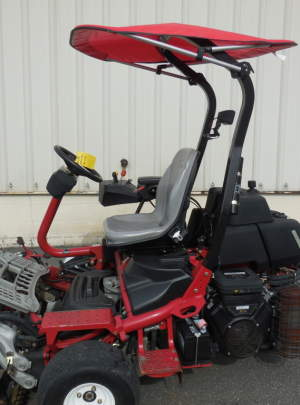 Toro 3300 Tri-flex Tee Mower (2012) 8 Blade DPA Riding Tee Mower TrixPlex