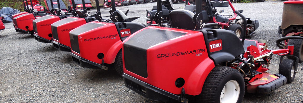 used toro groundsmaster 7210