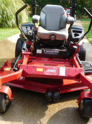"Toro Z Master (Professional) 5000 series, Turbo Force 60"" Cut. 2013 model"