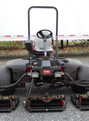 TORO 5410 REELMASTER Fairway Mower (2012) 11 Blade (DPA) Cutting Units 1046 Hours, Groomers, Power Rear Roller Brushers, Light Kit, (4WD) CrossTrax with ROP's