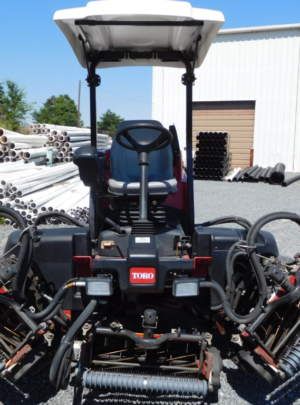 2014 Toro 5510 Reelmaster, 11 Blade (DPA) Cutting units, Groomers, Power Rear Roller Brushers, Canopy Top,