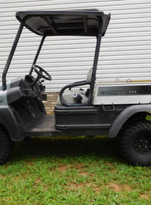 Club Car, (2011) Carryall 295, Intellitrak, 4X4, Side by Side UTV