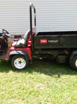 2012 TORO WORKMAN HDX (4WD) with 1822 Hours, Model number (07370)