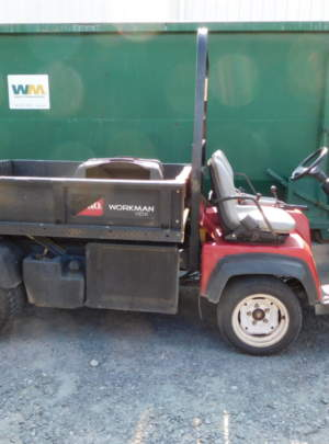 TORO (HD) Workman 2013, with 2020 hours, power dump bed with bed liner.