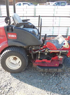 "TORO 7210 GROUNDSMASTER 2WD/60"" guardian Recycler/2010/with 1289"