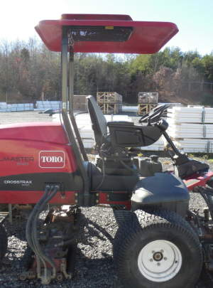 TORO 5410 REELMASTER (2012) CROSSTRAX (AWD) Fairway Mower 1642 Hours