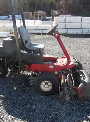Toro 3150Q Geensmaster 2010 Tee Mower with 1939 Hours, 11 Blade (DPA) Cutting Units, Narrow Weihle Rollers  (3WD) with ROP'