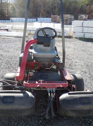 Toro 3150Q Geensmaster 2010 Greens Mower with 1939 Hours, 11 Blade (DPA) Cutting Units,(3WD) with ROP's