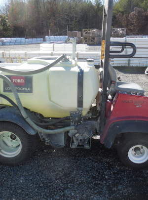TORO 1250 MULTIPRO SPRAYER (2011) 1220 Hours with rinse tank
