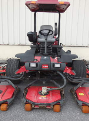 TORO 4700-D GROUNDSMASTER (2011) Canopy Top, Cool Top Fan with (2263) Hours